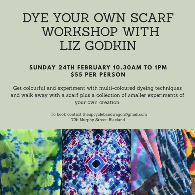 Scarf Workshop Feb