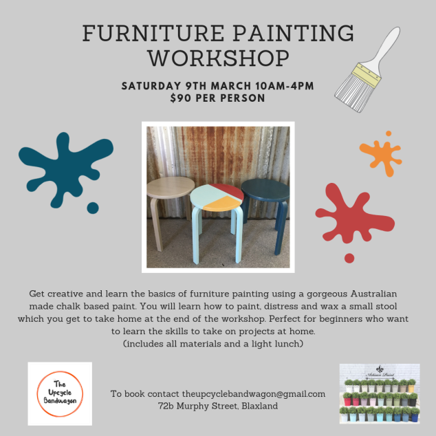 Stool Painting Workshop