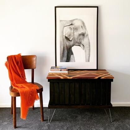 Blanket Box/Side Table $300